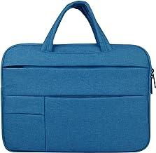 YSDHE Laptop Handbag Briefcase Handbag Satchel Bag Tablet Bussiness Carrying Sleeve Case Protector for Lady Men (Color : Blue, Size : 15.6inch)