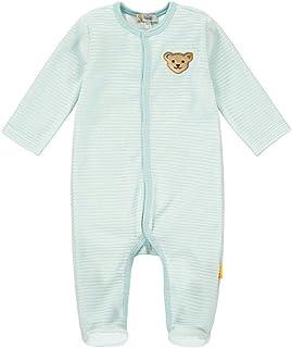 Steiff Baby-Jungen Mit Süßer teddybärapplikation Pyjamaset