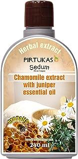 Extrait de fines huiles essentielles aux herbes naturelles Sedum pour sauna - Infusion de sauna avec Extrait de camomille ...