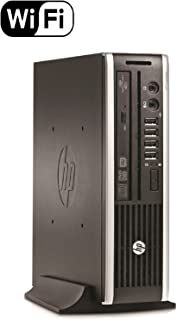 HP Elite 8300 Ultra Small Slim High Performance Business Computer PC (Intel 3470s 2.9Ghz), 8GB RAM, 120GB Brand New SSD, Wireless WIFI, USB 3.0) Windows 10 Professional (Renewed)