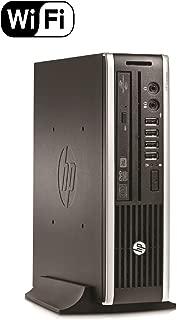 HP Elite 8300 Ultra Slim Desktop Computer, Intel Quad Core i5-3470S CPU, 8GB DDR3, 500GB HDD, USB 3.0, Windows 10 Pro (Renewed)
