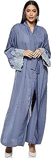 Nukhbaa Women's Abaya, Grey
