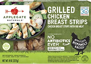 Applegate, Natural Grilled Chicken Breast Strips, 8oz