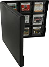 Assecure pro black 18 in 1 game cartridge holder storage system folio style case box for Nintendo 3DS, 2DS & DS game cards