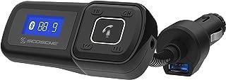 SCOSCHE BTFM2A BTFREQ Universal Bluetooth Hands-Free Car Kit with Digital FM Transmitter and 10-Watt USB Car Charger (Renewed)