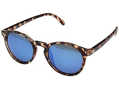 Sunski Dipseas Lifestyle Collection (Tortoise/Aqua) Sport Sunglasses
