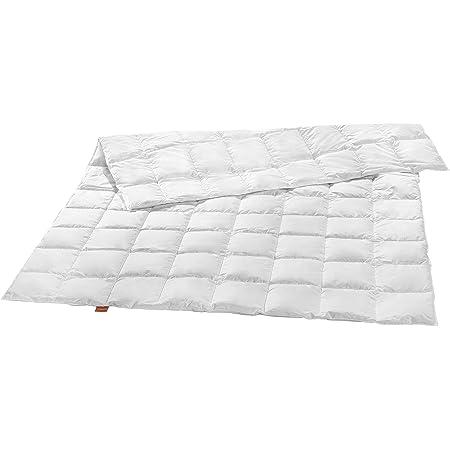 sleepling Couette de luxe 100 % duvet d'oie extra légère (330 g) - 200 x 200 cm - Blanc