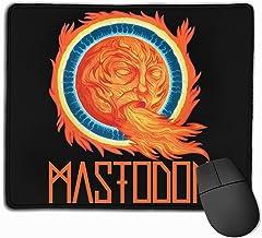 Iuqyzqzaza Mastodon Crack The Skye Mouse Pad Paris Picture Laptop Pad Non-Slip Rubber Stitched Edges 11.8 X 9.8 Inch