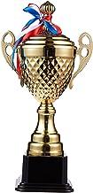 Juvale Siegerpokal - Grote trofee met 38,6 cm hoogte - voor wedstrijden, sporttoernooien, schoolwedstrijden, verjaardagssp...
