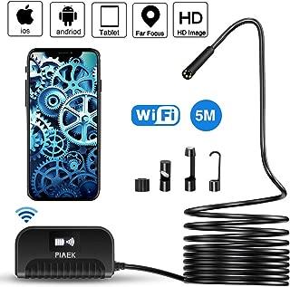 Endoscopio móvil Cámara de inspección WiFi Boroscopio Cámara de endoscopio 2.0 megapíxeles HD 1080P Impermeable IP68 para iPhone iOS / Android / Smartphone / Tableta - 5M