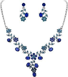 Best royal blue jewellery set Reviews