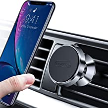 TORRAS Magnetic Car Mount, 360° Rotation Air Vent Cell Phone Holder Car Cradle Mount Compatible for iPhone 11 Pro Max/Xs/Xs Max/XR/X / 8/7 Plus Galaxy Note 10 / S10+ / S9+ and More - Silver