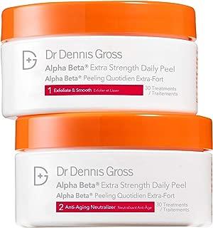 Dr. Dennis Gross Skincare Alpha Beta Extra Strength Peel Applications Jar, 30 Count