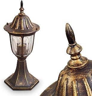 Design esterno in acciaio Inox Piantana Illuminazione Stand Lampada ip44 giardino cortile sentiero VERANDA
