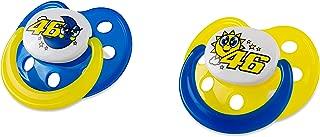 2 Pièce Vr46 Tétine-Set Turtle VR46 Valentino ROSSI bébé Sucette
