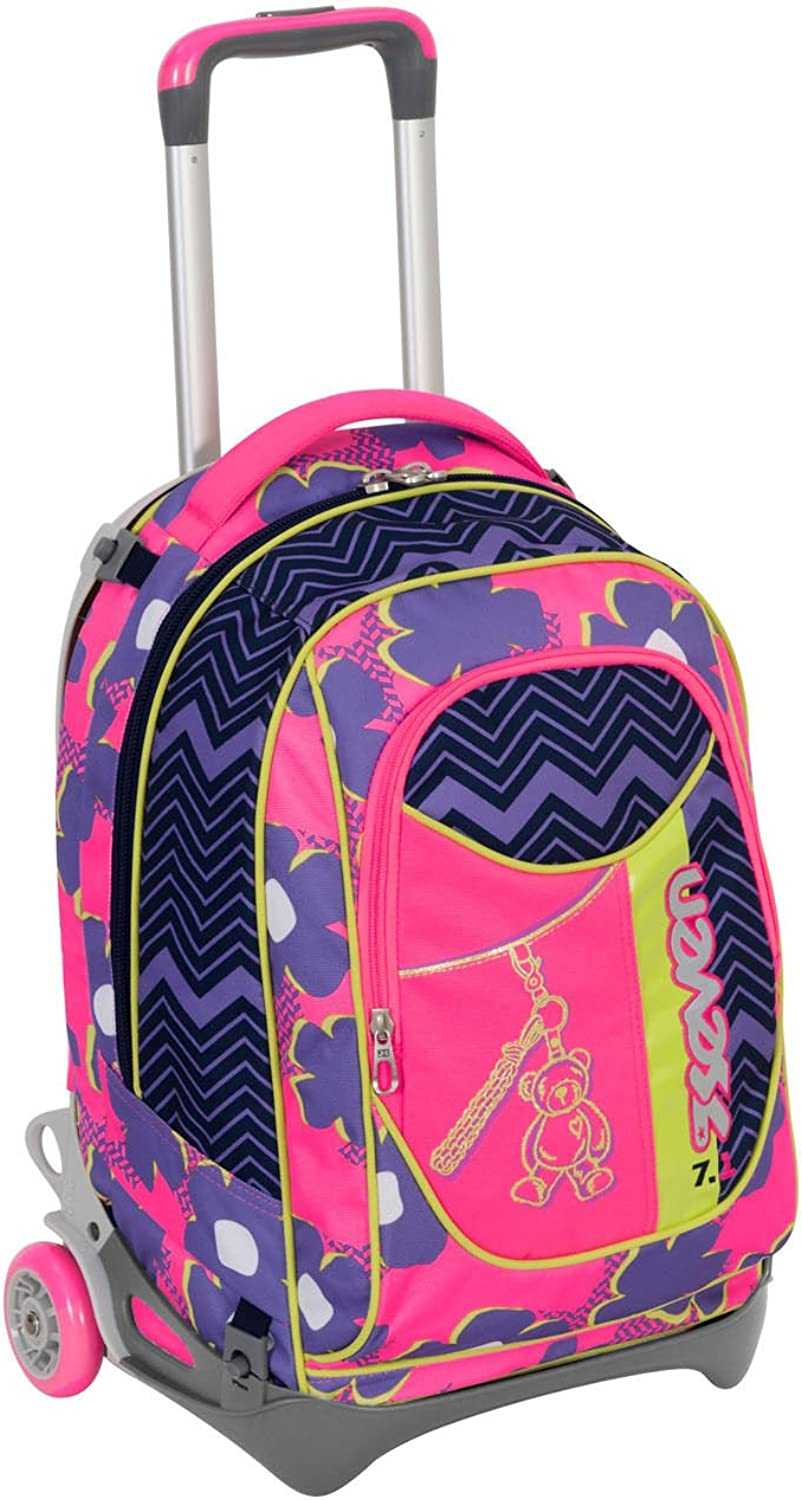 barato y de moda Wheeled Wheeled Wheeled Backpack Seven New Jack Sunflower  mejor oferta