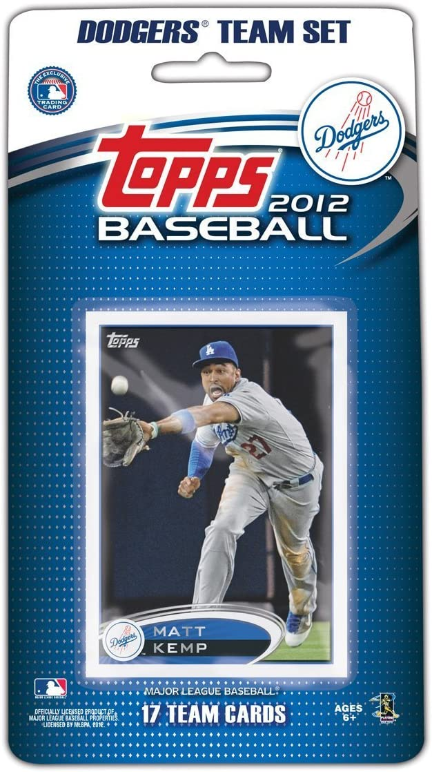 2012 Topps Ranking integrated 1st place Los Angeles Dodgers 17 Max 69% OFF Edition Sealed Factory Special