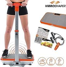 180 Levels 5 Programs Maximale Belastung 150 kg Vibrationstrainer f/ür Fitness und Gewichtsverlust Display4top Ultraflache Vibrationsplatte Mit Bluetooth Lautsprecher