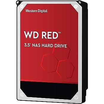 """WD Red 10TB NAS Internal Hard Drive - 5400 RPM Class, SATA 6 Gb/s, CMR, 256 MB Cache, 3.5"""" - WD101EFAX"""