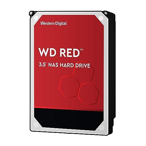 Western Digital Red 4TB Disque dur interne 4000 GB, SATA III, 6000 Mbit/s, 5400 rpm, 64 MB, 3.50 pouces