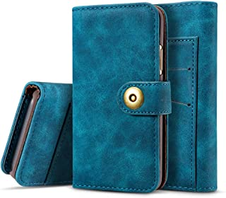 Bestgay Wallet case for iPhone 11 Pro Max 6.5 Inch [Kickstand Feature] [Flip Folio] Scratch Resistant PU Leather with ID&Credit Card Pockets for iPhone 11 Pro Max 6.5 Inch,Navy Blue