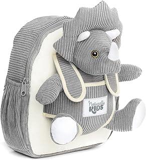 حقائب ظهر ناتشورالي كيدز للبنات والأولاد مع حيوان محشو