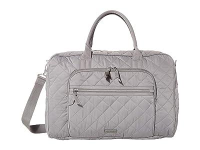 Vera Bradley Performance Twill Lay Flat Weekend Bag (Tranquil Gray) Bags