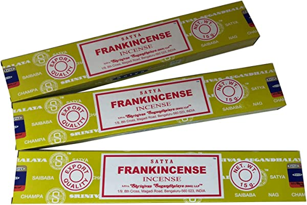 Satya Sai Baba Nag Champa Frankincense Incense Stick Pack Of 3 15 Gram Each
