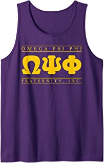 Mens Omega Psi Phi Fraternity, Inc. Tank Top