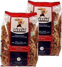Finosta Fusilli Whole Wheat Pasta Pack of 2, 500 gm Each