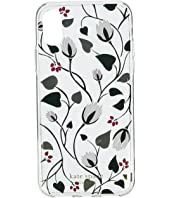 Kate Spade New York - Deco Bloom Clear Phone Case for iPhone XS