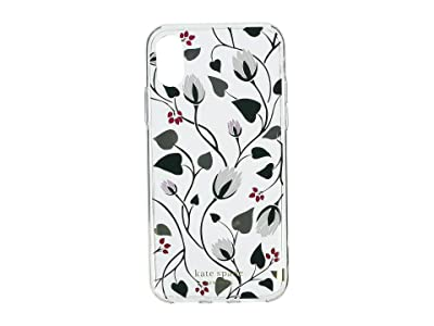 Kate Spade New York Deco Bloom Clear Phone Case for iPhone XS (Clear Multi) Cell Phone Case