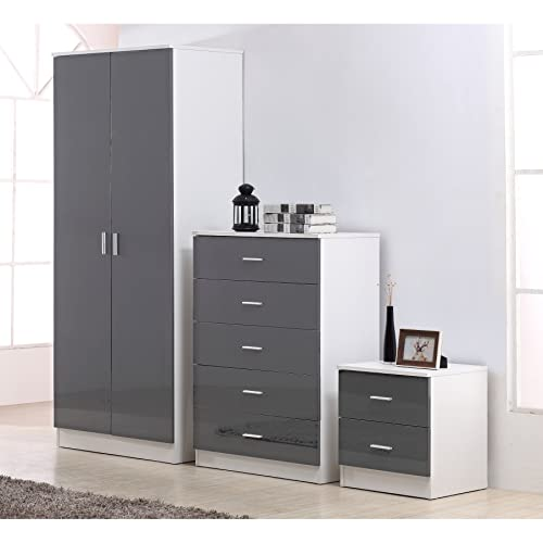 Outstanding Gloss Bedroom Furniture Amazon Co Uk Home Interior And Landscaping Ponolsignezvosmurscom