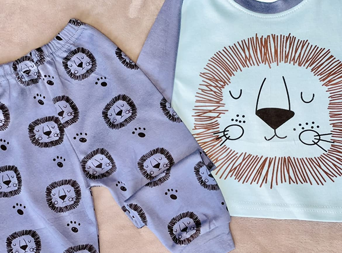 Baby Boy Clothes Pants and Top Set Soft Comfy 6-12 Months Everyday wear