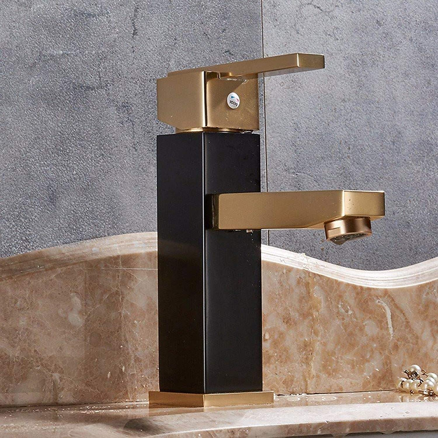 360° redating Faucet Retro Faucetblack gold Basin Hot and Cold Faucet