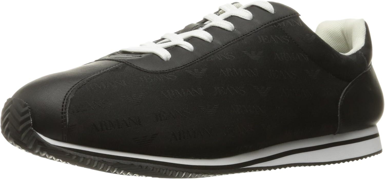 Armani Jeans Armani JEANSJACQUARD Logo Sneaker - Jacquard Logo, Turnschuh Turnschuh Turnschuh Herren B01BI4D31O  b62690