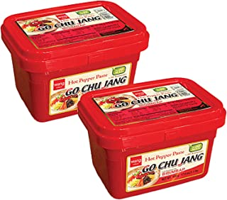 Gochujang Spicy Hot Red Chili Pepper Paste, Korean Traditional Essential Seasoning Sauce - Cholesterol Free, Fat Free, All...