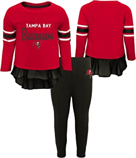 OuterStuff NFL Baby-Girls Mini Formation Long Sleeve Top & Legging Set