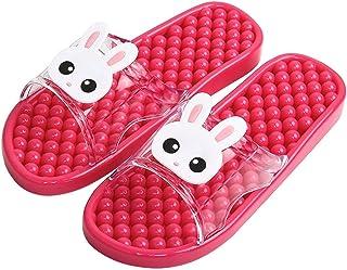 YAOLUU Summer Slippers Ducha Baño del Deslizador de Las Sandalias Sandalias de acupresión Masaje for los Zapatos de Las Mu...