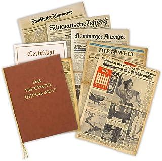 Geschenkidee zum 80. Geburtstag: Zeitung vom Tag der Geburt