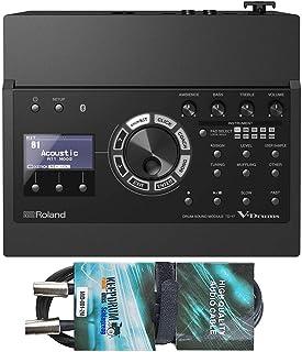 Roland TD-17 - Módulo de sonido para batería eléctrica y cable MIDI Keepdrum (2 m)