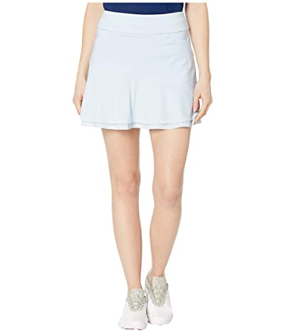 adidas Golf Ultimate365 Knit Frill Skort (Sky Tint) Women