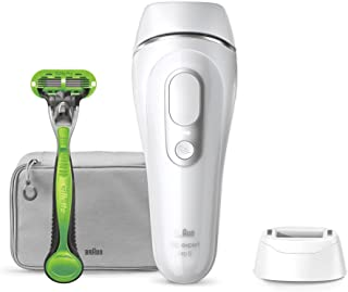 Braun Silk·expert Pro 5 IPL PL5115, IPL Laserontharing Voor Blijvend Zichtbare Ontharing Thuis, Ontharingsapparaat Man, Wi...