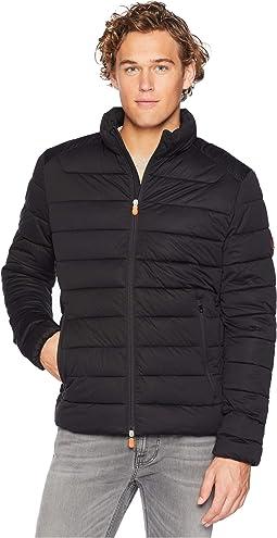 Short Solid Stretch Coat