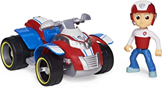 Paw Patrol, Ryder?s Rescue ATV Vehicle with Collectible Figure, for Kids Aged 3 and up