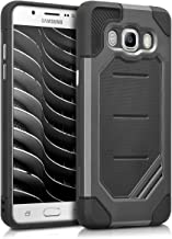kwmobile Full Armor Case for Samsung Galaxy J5 (2016) DUOS - Heavy Duty Shockproof Protective Hybrid Case Cover - Anthracite/Black
