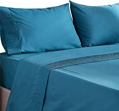 King Bed Sheets Set - Hotel Luxury Soft 1800 Bedding Sheets - Hypoallergenic, Wrinkle, Fade & Stain Resistant Bedding Set...