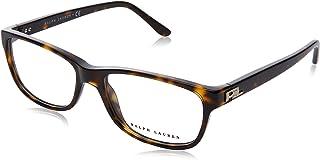 Ralph Lauren RL6101 Eyeglass Frames 5003-52 - Dark Havana Frame, Demo Lens RL6101-5003-52