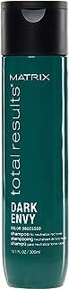Matrix - Total Results Dark Envy Shampoo Neutralizzante Anti Rosso per Capelli Scuri, 300 ml