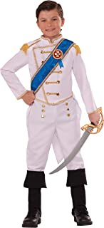Forum Novelties Kids Happily Ever After Prince Costume, White, Medium